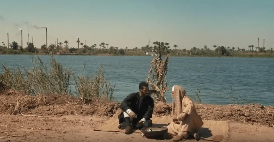 مشهد الحوار بشأن نار النبي إبراهيم