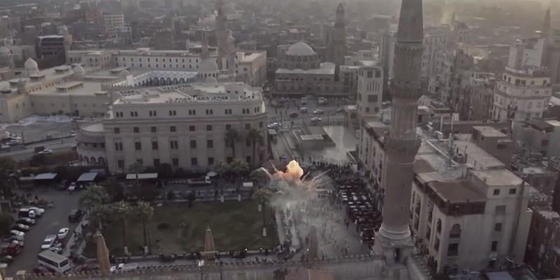 مشهد انفجار الميدان الحسيني