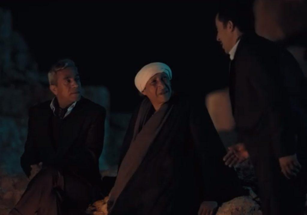 مشهد (شهاب باشا وهو يتلقى خبر قدوم الشيخ رفعت)