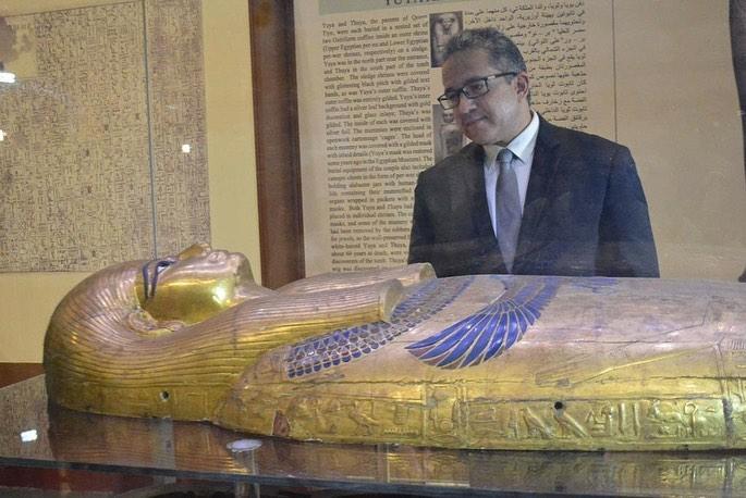 خالد عناني وزير الأثار