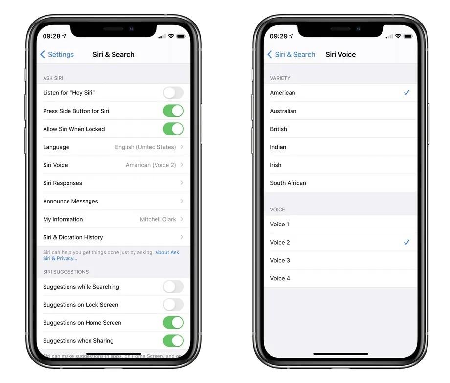 كيفية تغيير صوت Siri في iOS 14.5