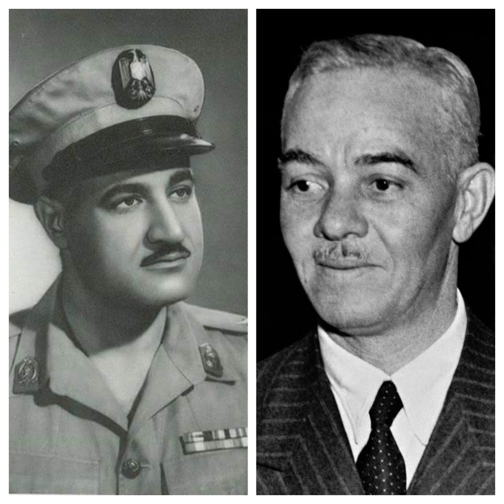 إبراهيم عبدالهادي - جمال عبدالناصر