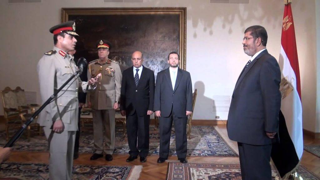 السيسي يؤدي اليمين وزيرًا للدفاع
