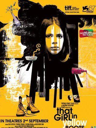 الفتاة ذو الحذاء الأصفر