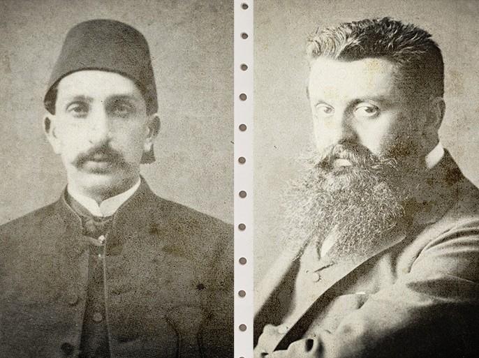 هرتزل وعبدالحميد الثاني