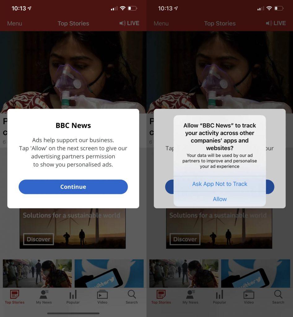 كيفية استخدام خاصية الخصوصية الجديدة App Tracking Transparency في iOS 14.5