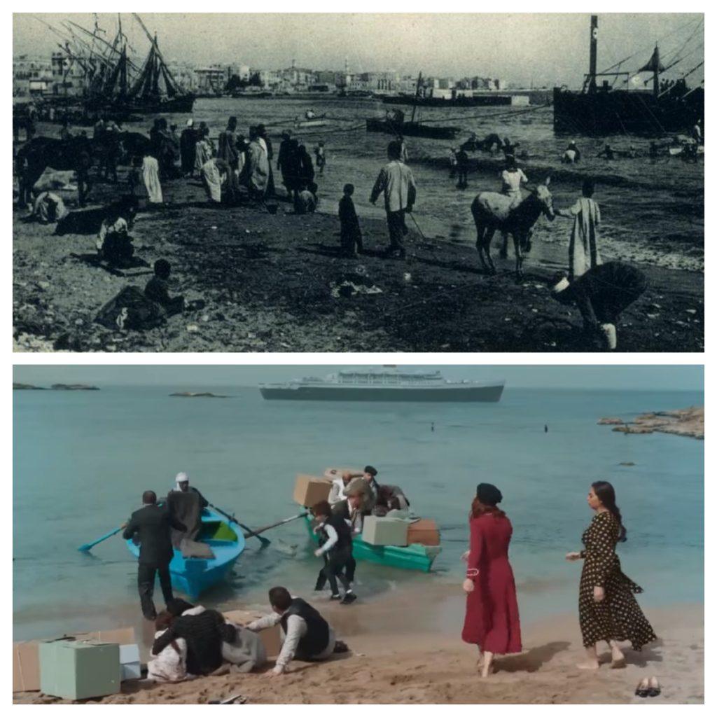 من شواطئ الإسكندرية