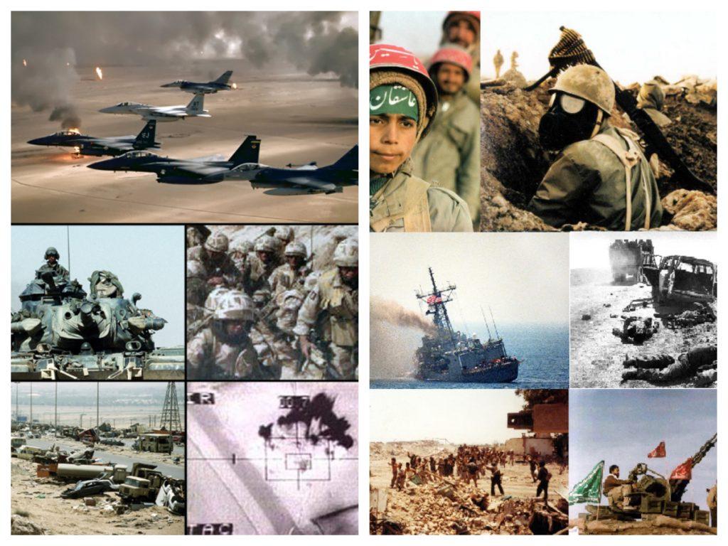 حرب الخليج الأولى والثانية