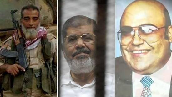 فرج فودة - محمد مرسي - عبدالشافي عبد ربه