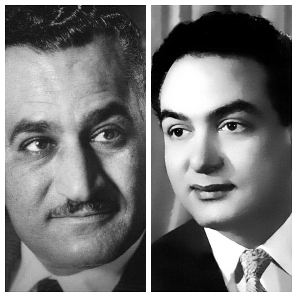 محمد فوزي - جمال عبدالناصر