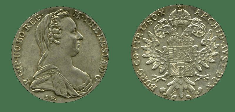 الدولار النمساوي الذي كان يسميه العرب الريال الفرنسي