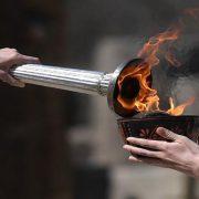 شعلة الأولمبياد