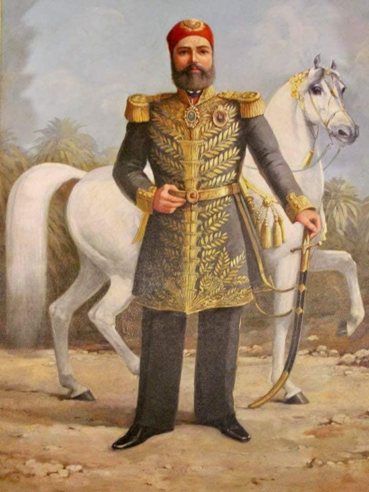 عباس حلمي باشا الأول