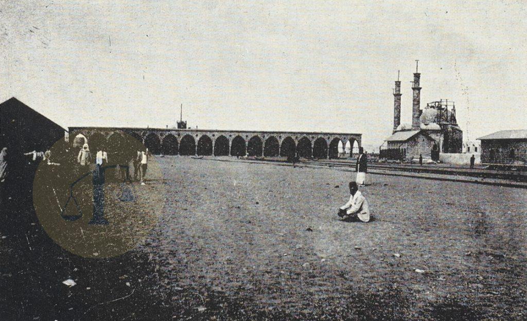 مسجد محطة السكة الحديد في المدينة