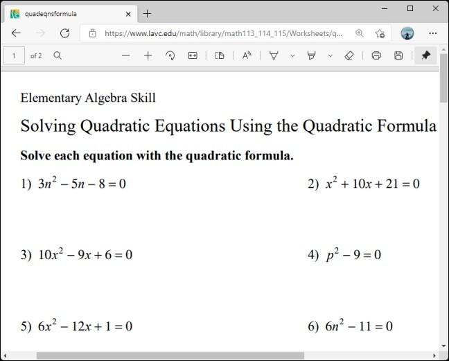 حل المسائل الحسابية في ايدج ... كيفية حل أعقد المسائل الحسابية من داخل متصفح الانترنت