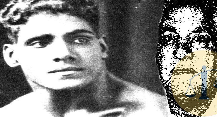 إبراهيم مصطفى لاعب المصارعة