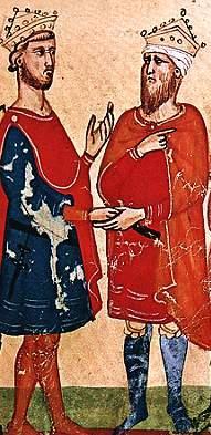 الكامل محمد بن العادل وفريدريك الثاني أمبراطور الإمبراطورية الرومانية