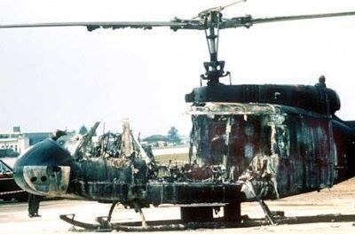 تفجير طائرة هليكوبتر