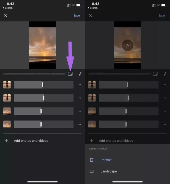 انشاء فيديو من صور Google Photos