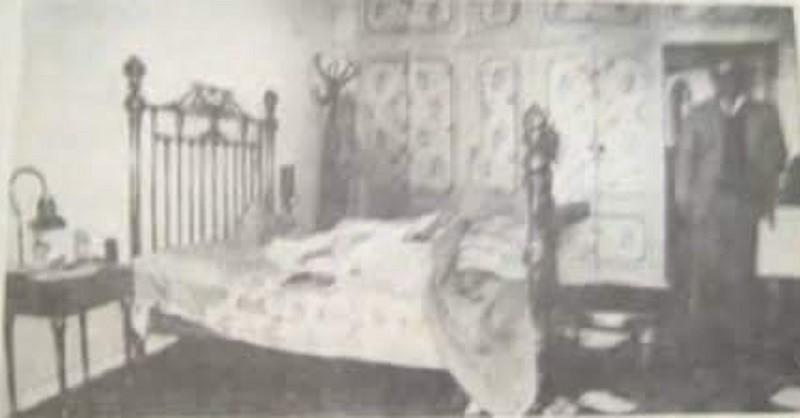 السرير الذي نامت عليه سميرة مليان