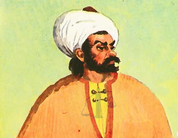 الشيخ إبراهيم اللقاني - رسمة تخيلية