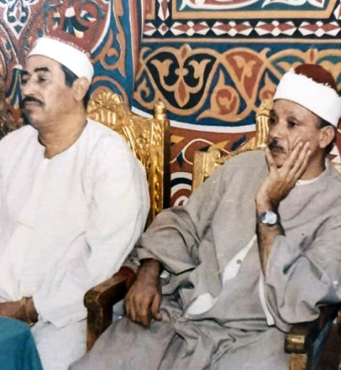 الشيخ عبدالباسط عبدالصمد والشيخ الطبلاوي