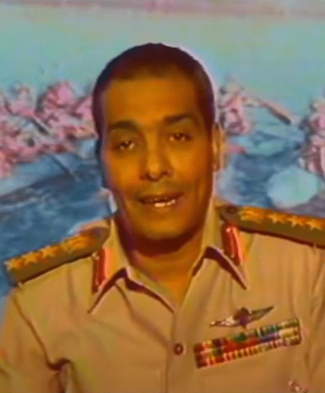 المشير محمد حسين طنطاوي سنة 1973 م
