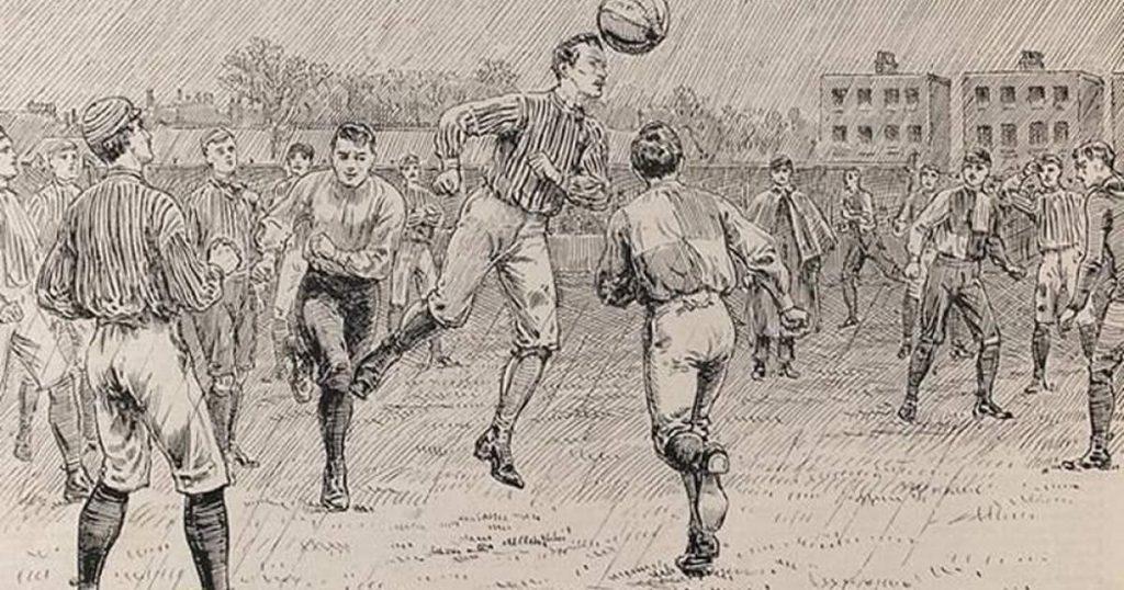 بدايات كرة القدم