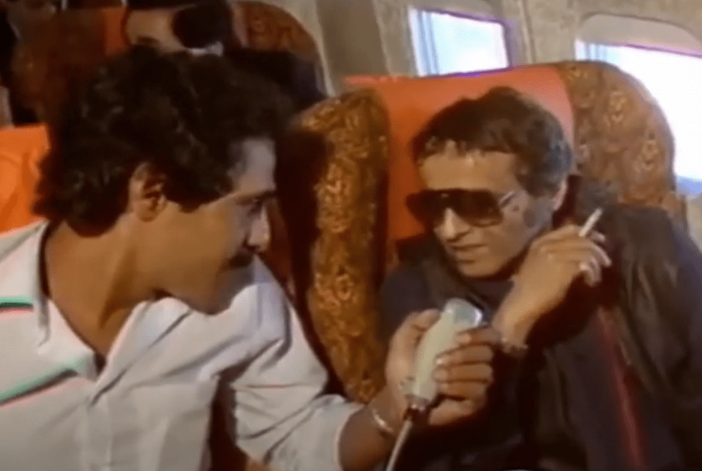 بليغ حمدي في لقاء مع التلفزيون المغربي منتصف 1984 م