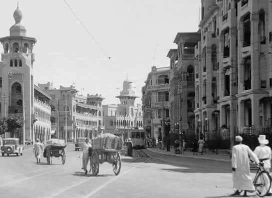 شارع إبراهيم اللقاني سنة 1934 م