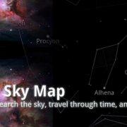 تجول في الفضاء وتابع تغيرات المجموعة الشمسية مع تطبيق Google Sky Maps