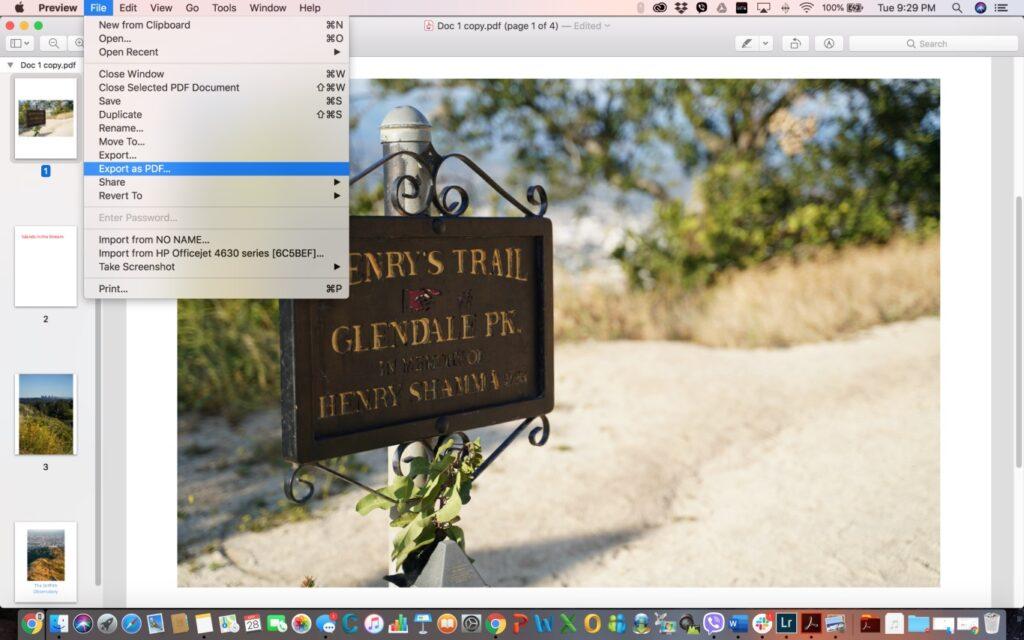 كيفية دمج ملفات PDF في ملف واحد على نظامي تشغيل ماك وويندوز